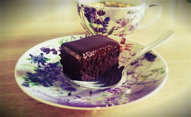 Čokoládový koláč z mandľovej múky