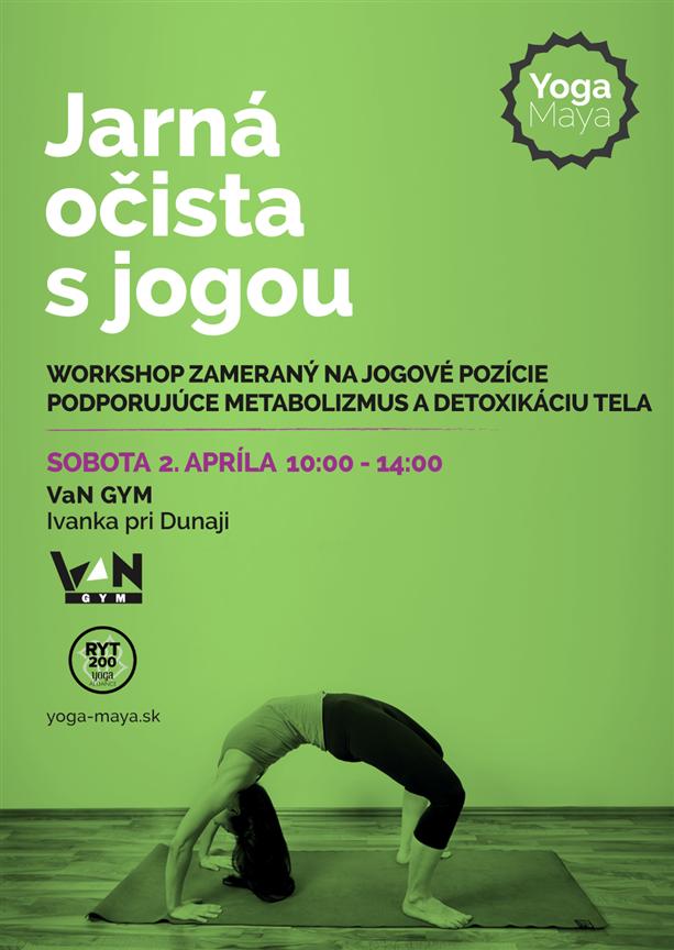 Workshop- Jarná očista s jogou