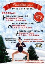Vianočná joga v Diamond Gym, Nitra
