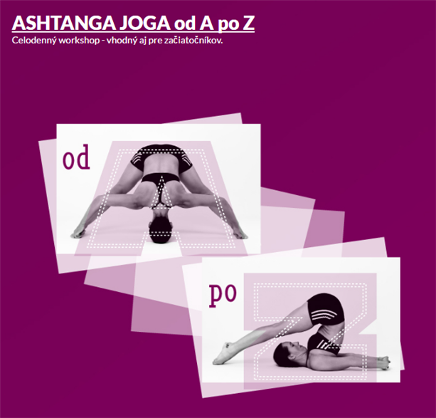 Workshop- Ashtanga joga od A po Z